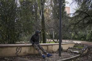 Niño marroquí en situación de calle (Madrid, 2016). Pedro Armestre / Save the Children