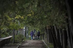 Niños marroquíes en un parque de Madrid (2016). Pedro Armestre / Save the Children
